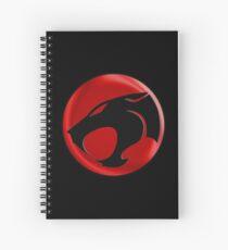 Thundercats symbol Spiral Notebook