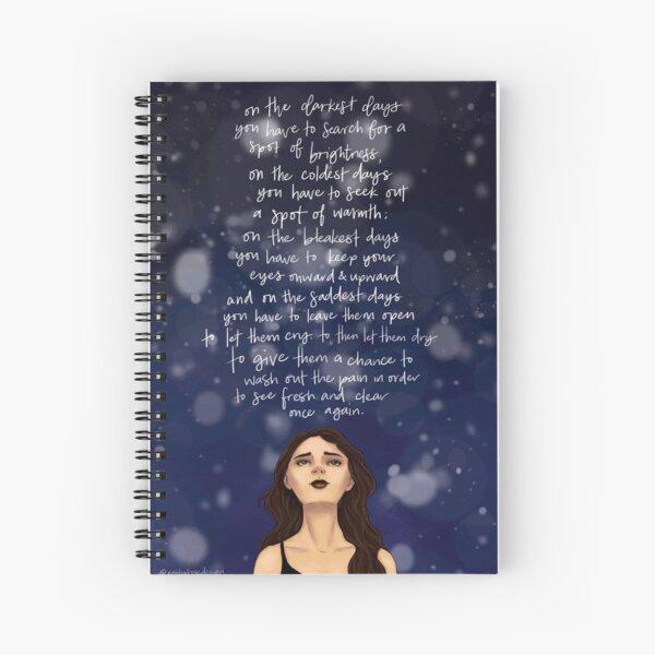 Shatter Me Spiral Notebook