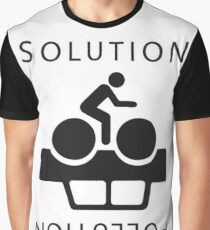 Solution To Pollution Graphic T-Shirt