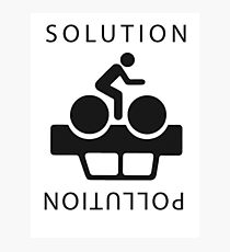 Solution To Pollution Photographic Print