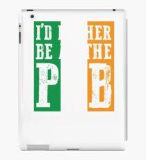 At The Bar gift for Irish People iPad Case/Skin