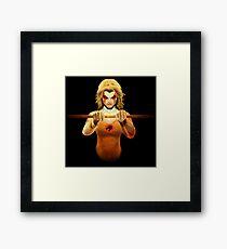 Cheetara Framed Print