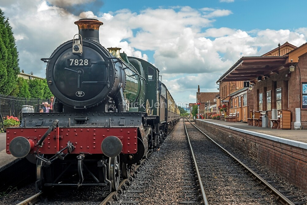 The Odny Manor Steam Loco West Somerset Railway by Nick Jenkins
