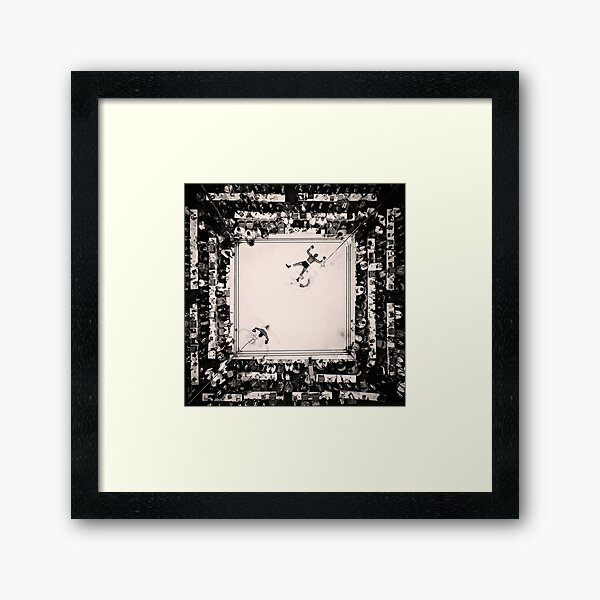 Ali vs Williams Framed Art Print