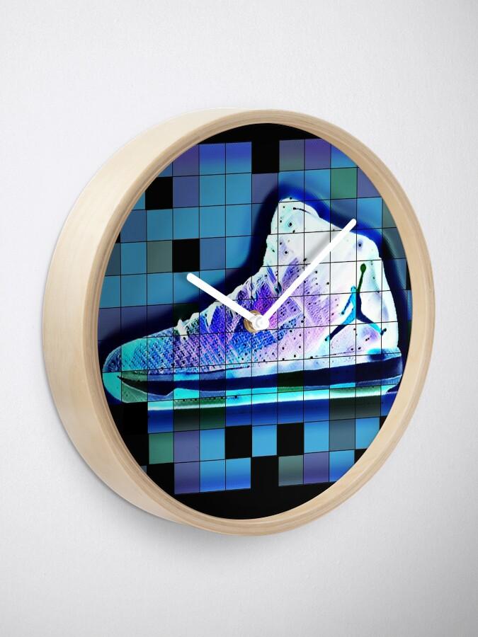 Alternative Ansicht von Jordan Schuhe Tshirt Design Geschenkidee Uhr