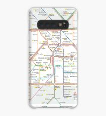 Berlin U-Bahn Map - Germany Case/Skin for Samsung Galaxy