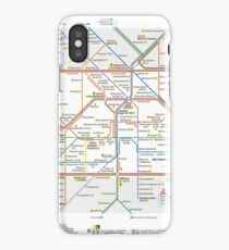 Berlin U-Bahn Map - Germany iPhone Case