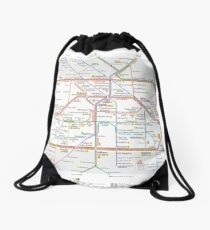 Berlin U-Bahn Map - Germany Turnbeutel