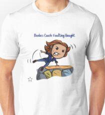 Badass Couch Vaulting Haught Unisex T-Shirt