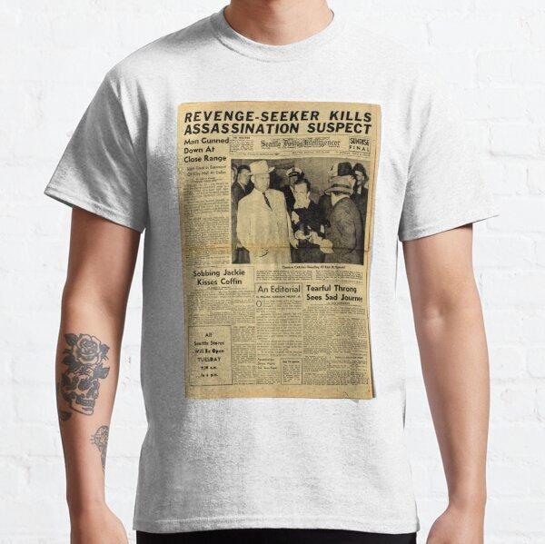 Old Newspaper Classic T-Shirt