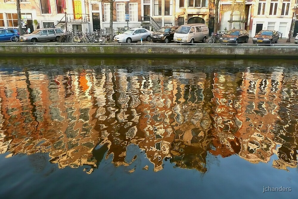 Amsterdam reflections in late December 2008 by jchanders