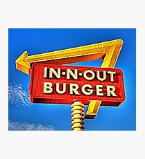 IN-N-OUT BURGER  Photographic Print