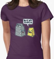 Back Off Martin! Women's Fitted T-Shirt