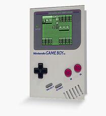 Game Boy Choose Your Pokemon Greeting Card