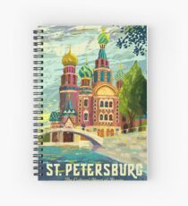 St. Petersburg, Church of the Savior on Blood, Russia Spiral Notebook