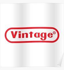 Vintage Retrogamer Poster