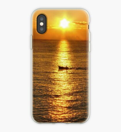 dawn on the sea iPhone Case