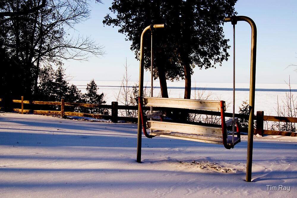 Winter Sitting Spot by Tim Ray
