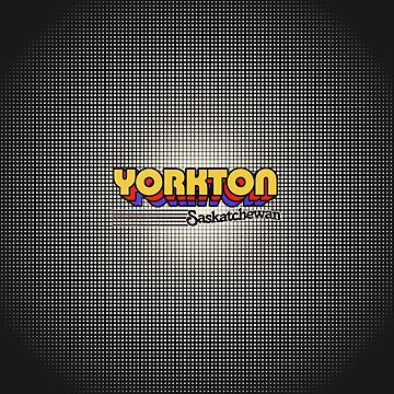 Yorkton, Saskatchewan | Retro Stripes by retroready