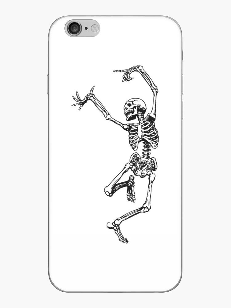 tanzendes Skelett, das Spaß hat von hannahbrugge