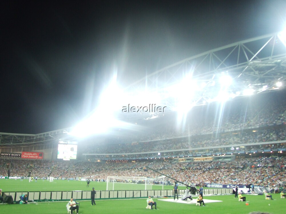 Telstra Stadium Sydney fc - La Galaxy by alexollier