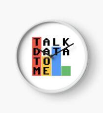 Sprechen Sie mit mir Daten Uhr