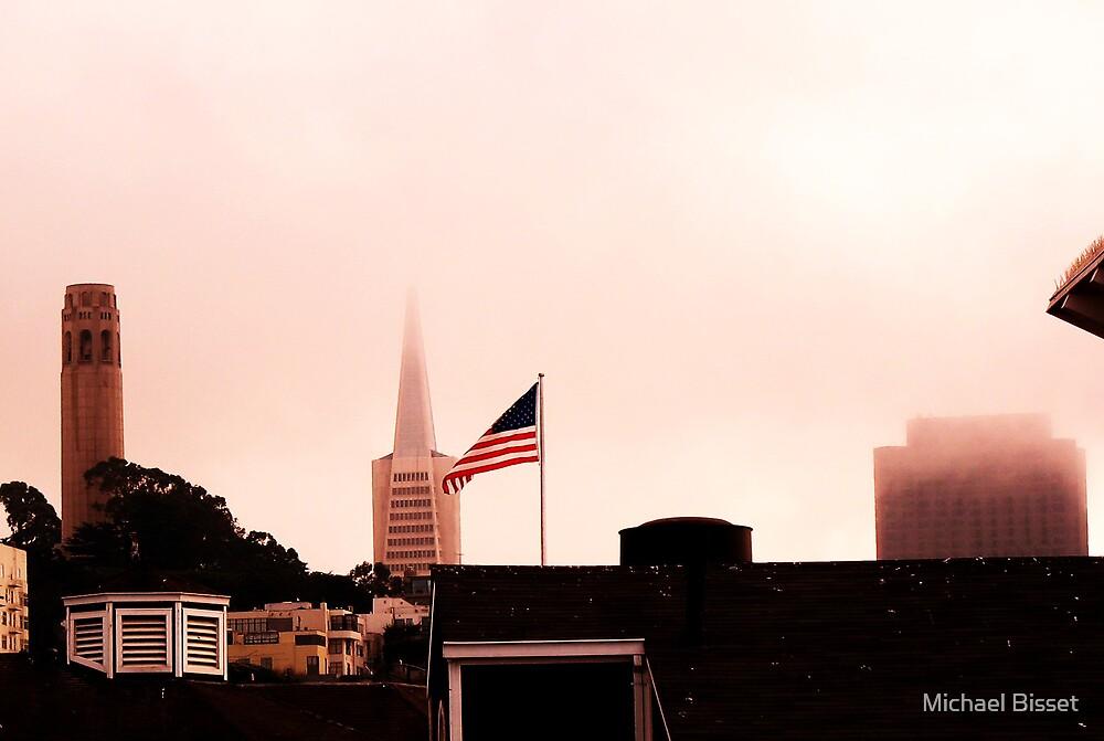San Fran city mist  by Michael Bisset