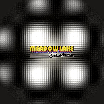 Meadow Lake, Saskatchewan | Retro Stripes by retroready
