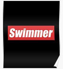 Swimmer - Swimmer,  Butter Fly, Breast Stroke, Swimming, Sports, Olympics, Tricks, Hobby, Recreation, Water, Swimming Pool, Summer, Goggles, Sunglasses Poster