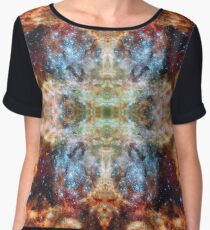 Space Butterfly 04 Chiffon Top