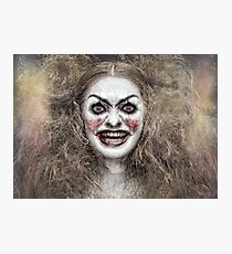 Psycho Circus 1 The Clown Photographic Print