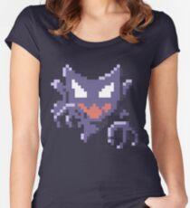 Pixel Haunter Women's Fitted Scoop T-Shirt