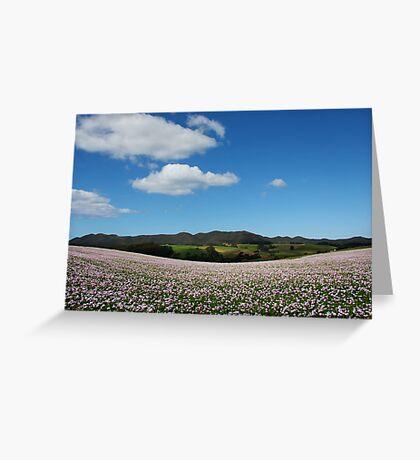 Opium Dreaming Greeting Card