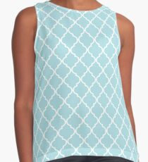 Moroccan Trellis Pattern Womens T Shirts Tops