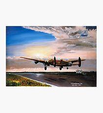 Lancaster evening takeoff  Photographic Print