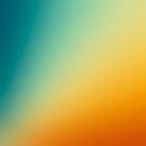 Gradient Colours: Orange Blue by raquelcatalan