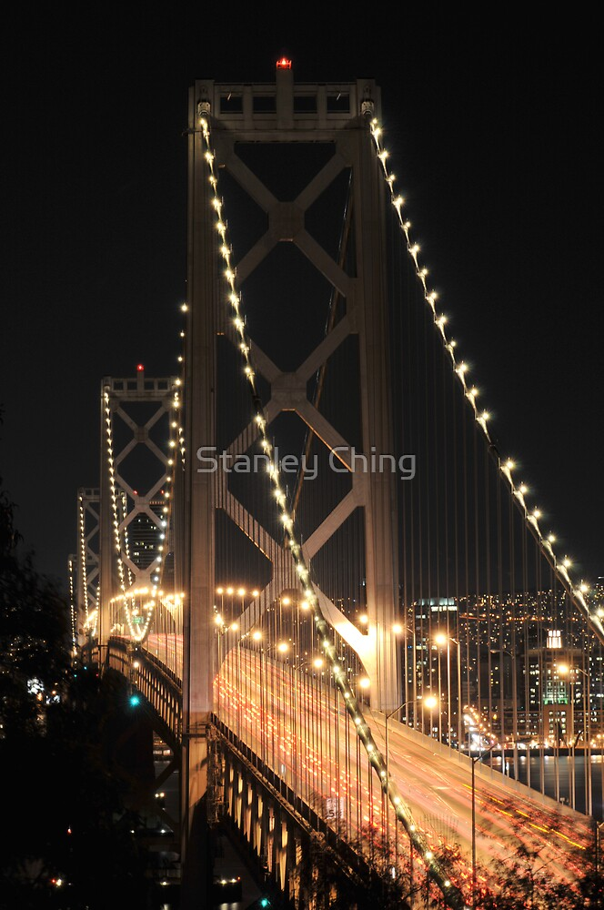 Bay Bridge Up Close by Stanley Ching