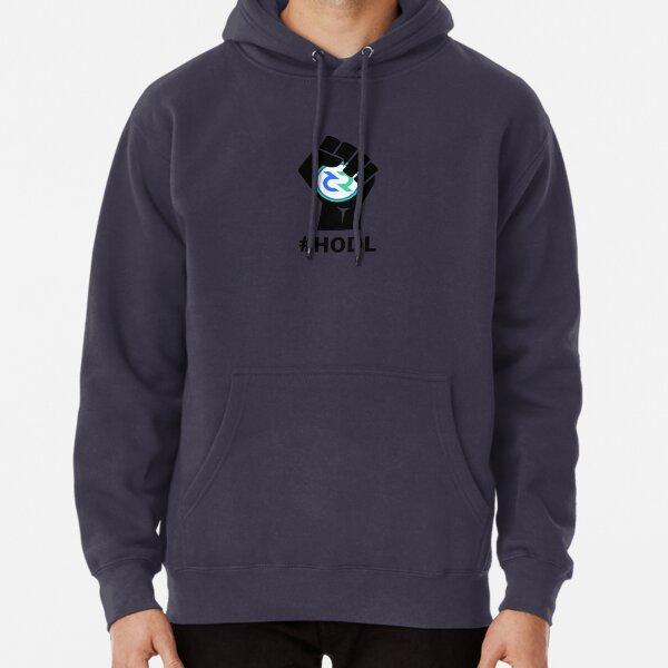 HODL Decred-Fist HODLing DCR Logo-black Pullover Hoodie