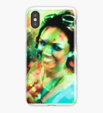 Girl with the Goggles iPhone Case/Skin