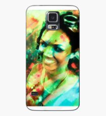 Girl with the Goggles Case/Skin for Samsung Galaxy