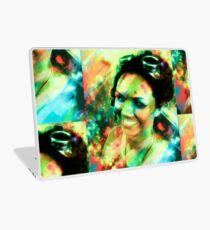 Girl with the Goggles Laptop Skin