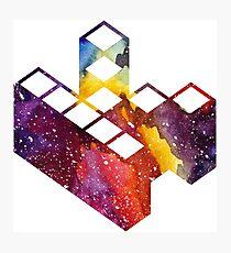 Kopimi symbol Space Photographic Print