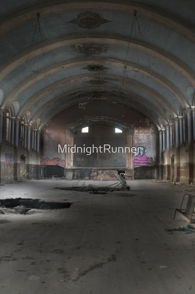 Hellingly Asylum - Urban Exploration by MidnightRunner