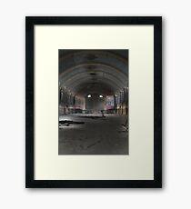 Hellingly Asylum - Urban Exploration Framed Print
