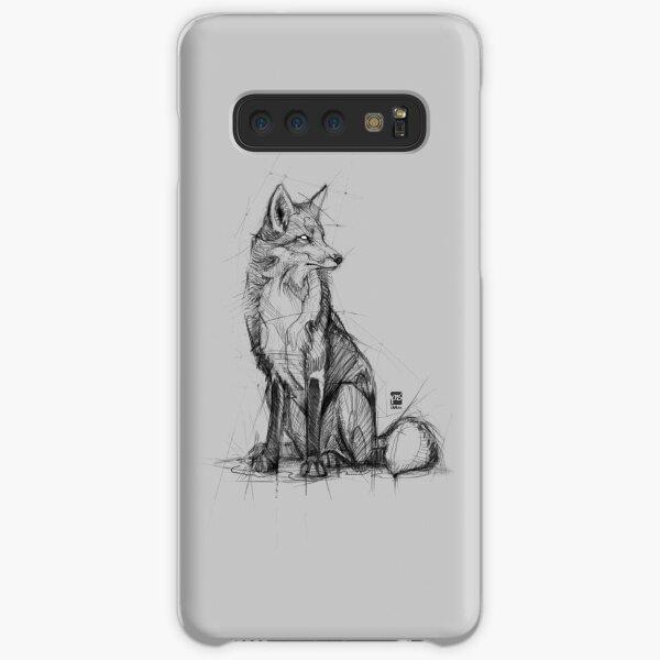 fox sketch psdelux Samsung Galaxy Snap Case