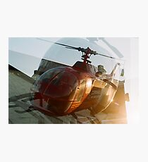 Cornwall Air Ambulance Photographic Print
