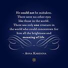 Anna Karenina Quote by The Eighty-Sixth Floor