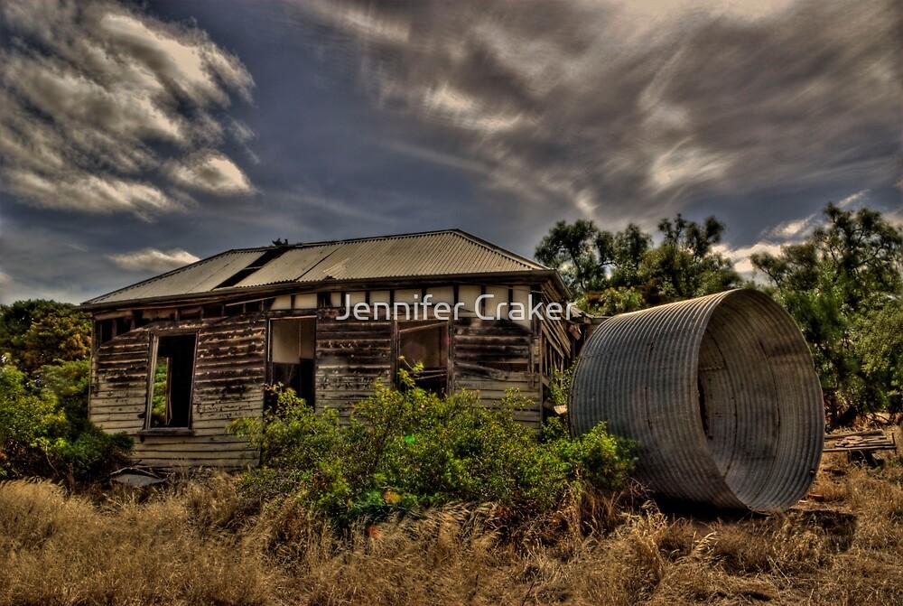 Old Longerenong Homestead by Jennifer Craker