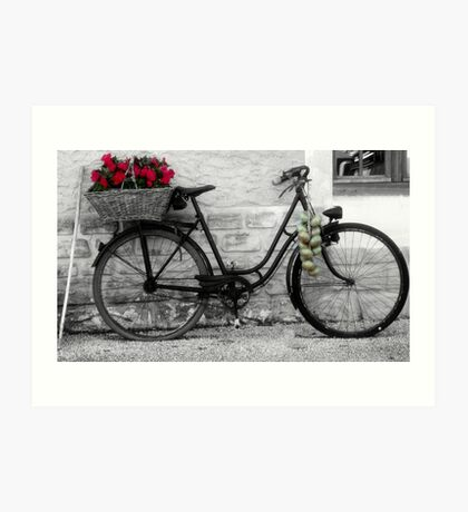 French Wheels And Onions! Art Print