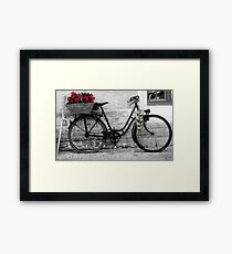 French Wheels And Onions! Framed Print